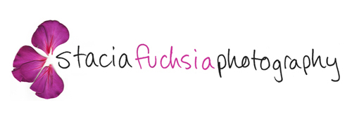 stacia fuchsia photography logo